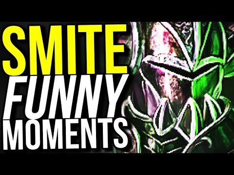 HOW TO WIN A GAME WITH 1 FINGER! (Smite Funny Moments)