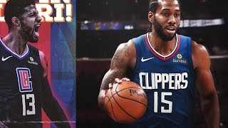 KAWHI LEONARD VE PG13, LOS ANGELES CLIPPERS'TA! NBA Sohbeti
