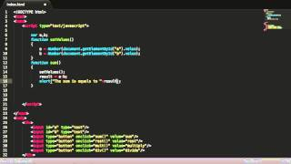 Javascript Tutorial - how to make a basic calculator(, 2013-02-07T04:19:33.000Z)