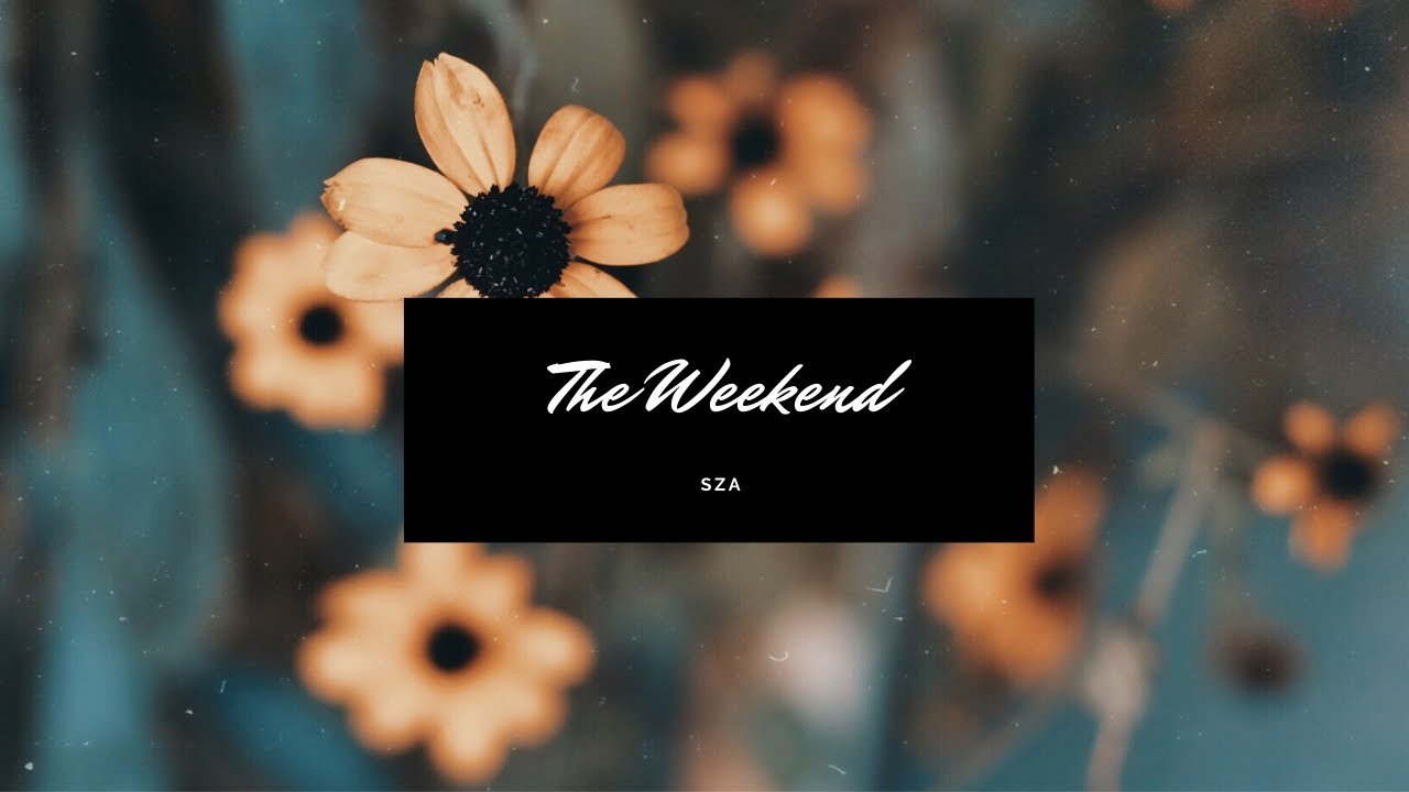 The Weekend—Sza (cover by Amanda Cunningham)