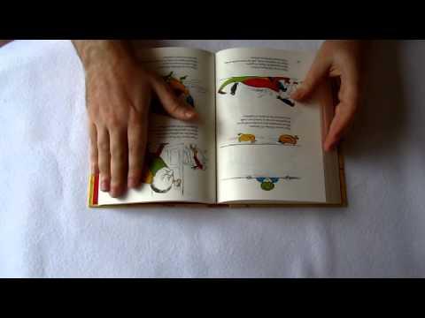 ASMR Book Sounds, page turning (binaural)