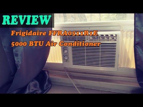 Frigidaire FFRA0511R1E 5000 BTU Air Conditioner Review