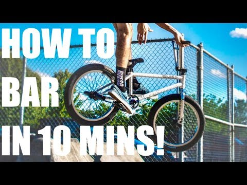 HOW TO BARSPIN - LEARN IN MINUTES! *BEST/FASTEST METHOD BMX*