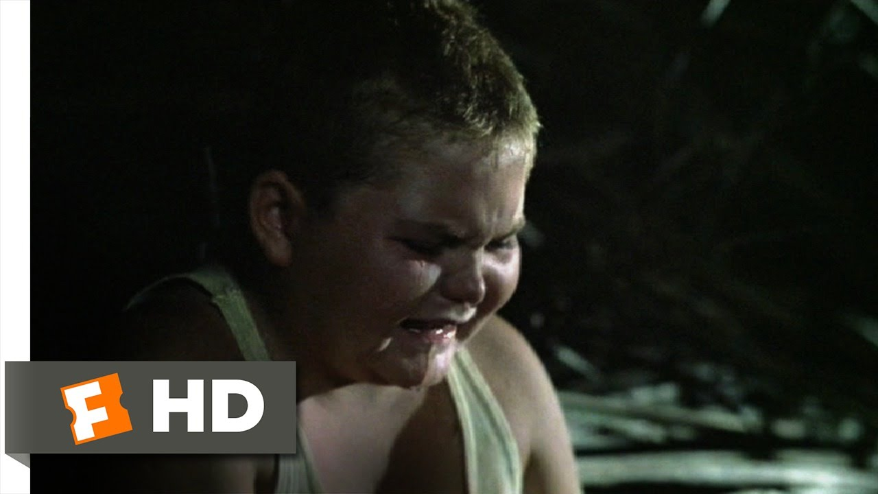 lord of the flies movie clip they broke my glasses  lord of the flies 6 11 movie clip they broke my glasses 1990 hd