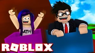 CHALLENGE LYNA TO A BOX RACE FOR AREA 51 OF ROBLOX