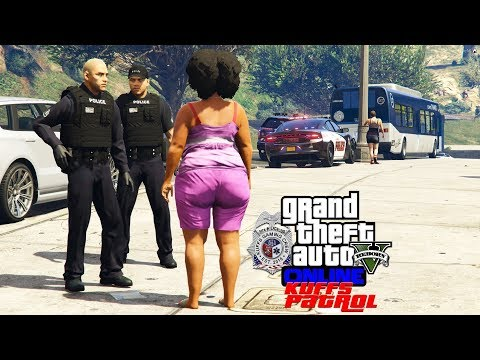 GTA 5 FiveM Police Roleplay - Karla Stole A Bus - KUFFS Multiplayer #185