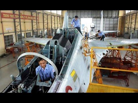 Nhà máy A32: Nơi sửa chữa máy bay SU-27, SU-30 hiện đại của Việt Nam