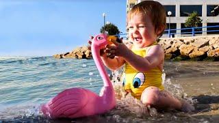 Бьянка на море в Испании и на площадке - Привет, Бьянка
