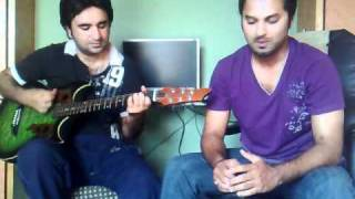 """CHUE CHUE"" COVER BY ALI SHAN AND ALI JAFFERY (STRANGERS) :-)"