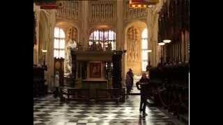 Вестминстерское аббатство в Лондоне(Со своими одинаковыми квадратными башнями и ажурными арками, Вестминстерское аббатство в Лондоне, являетс..., 2013-08-29T21:54:42.000Z)
