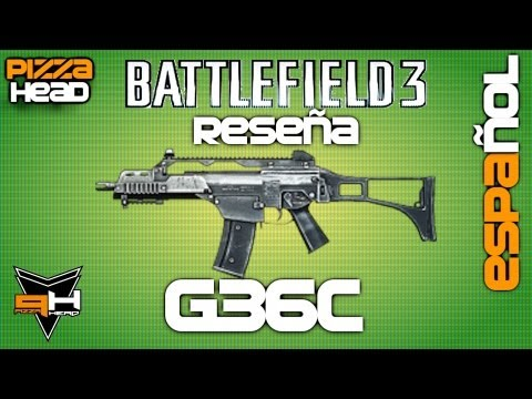 G36C Reseña Battlefield 3 [ Español ] ( PizzaHead ) Guía de Armas Battlefield 3 Gameplay