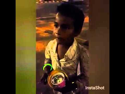 Indian Street Kid Wants To Join The Army