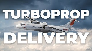 How Do Turboprops Get Delivered To Far Away Customers?