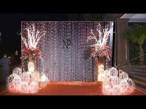 Priyanka Chopra And Nick Jonas GRAND STAGE DECORATION For Their Last MARRIAGE Reception In Mumbai