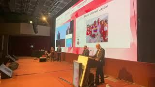 Dr Mario Villarroel recibe Premio Henry Dunant por su labor humanitaria