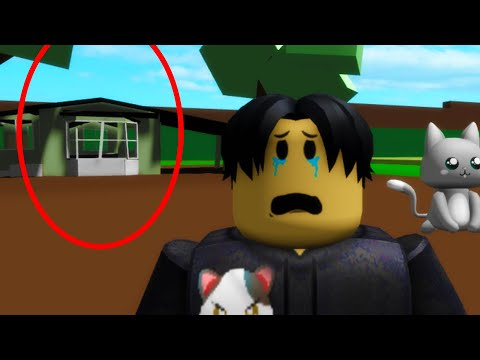 Never go to this abandoned house in Roblox BrookHaven