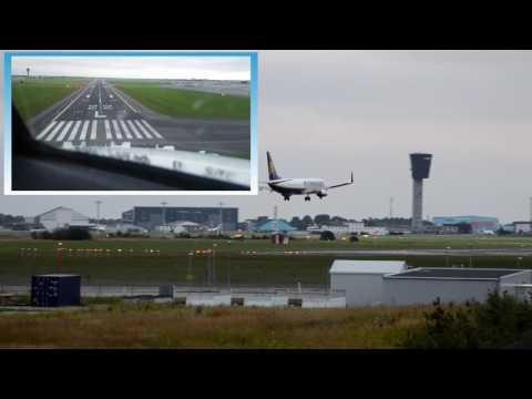 Landing in Copenhagen - Double Viewpoint