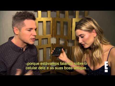 Hailey Baldwin e Jason Kennedy fazem pegadinha com Kendall no E! News | Legendado