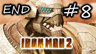 Iron Man 2 Gameplay Walkthrough Part 8 - Ultimo Last Boss + Ending