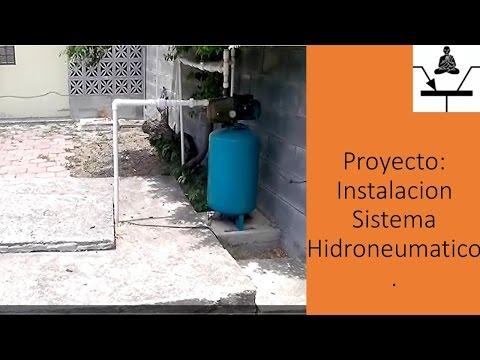 Proyecto: Instalacion Sistema Hidroneumatico