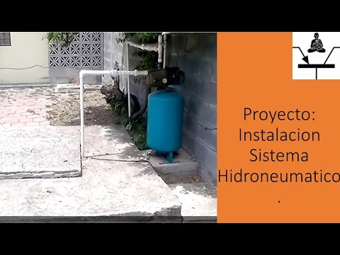 Proyecto: Instalacion Sistema Hidroneumatico thumbnail