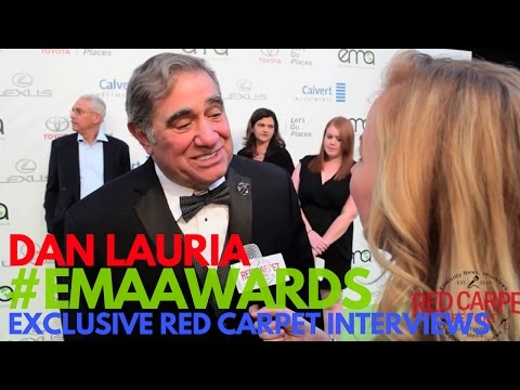 Dan Lauria interviewed at the 26th annual EMA Awards #EMAAwards #Green4EMA #WeAskMore