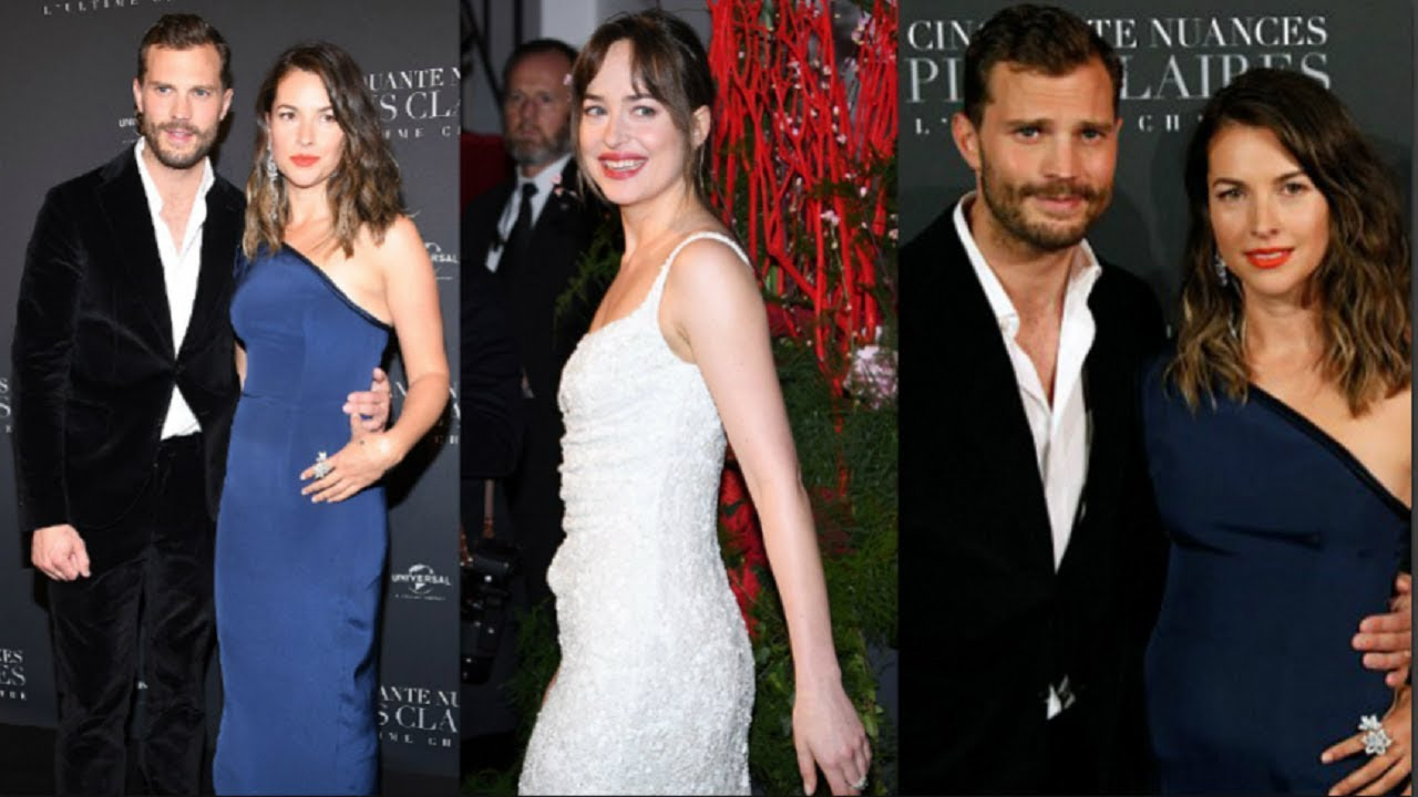 jamie dornan amelia warner amp dakota johnson together in
