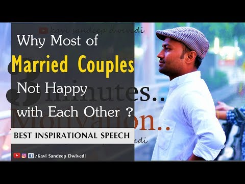 Why Married Couples Not Happy With Each Other? : Lets Talk About A Hidden Reason