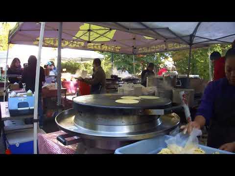 Making Tortillas @ the Portland Farmers' Market