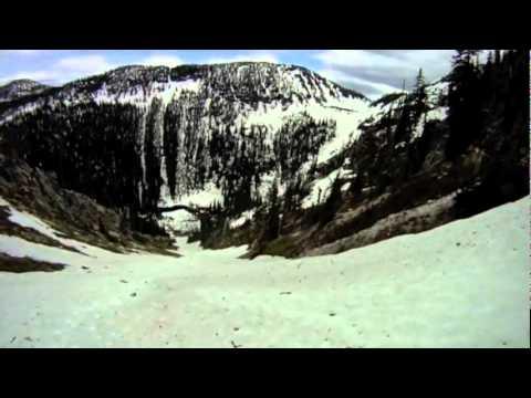 July 1st backcountry ski