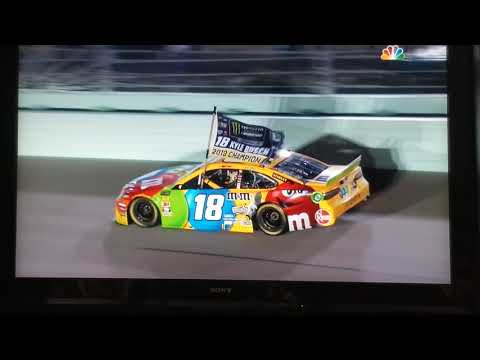 2019 NASCAR MECS Ford EcoBoost 400 - Kyle Busch Monster Energy Cup Series Champion