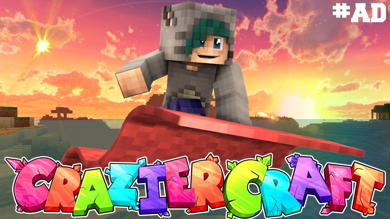 Download A WHOLE NEW WORLD! - Minecraft CrazierCraft SMP - Ep.8