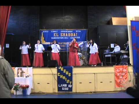 El Shaddai Vancouver Chapter Gospel Choir - Praise and Worship (Nov 25, 2012)