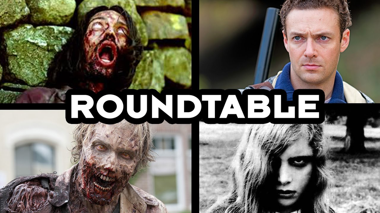 Talking Zombies with the Walking Dead's Ross Marquand - CineFix Roundtable