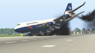 Worst Planes Emergency Landing Ever | XP11