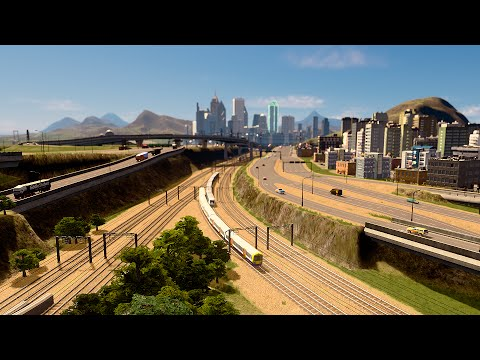 Cities: Skylines - Modbrough [PART 4] Smooth Rail Infrastructure & Development