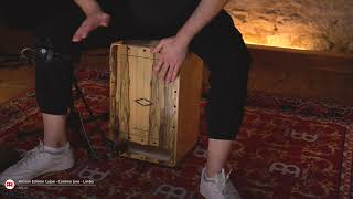 MEINL Percussion - Artisan Edition Cajon, Cantina Line, Limba - AECLLI