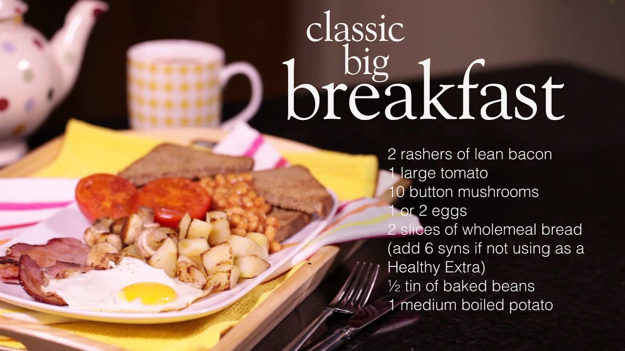 Slimming world classic cooked breakfast youtube Slimming world slimming world
