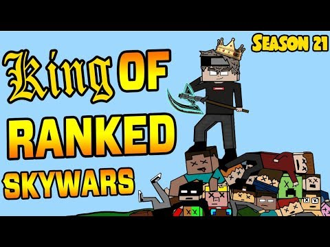 Ranked Skywars Highlights - High Rated/Leaderboard Players