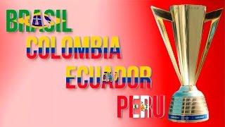 CONMEBOL Jugando en CONCACAF