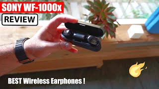 Sony WF 1000X True Wireless Noise Cancellation Earphones Review