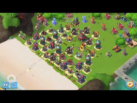Boom Beach Imitation Game Stage 7 Unboosted Warriors May 18th/2018