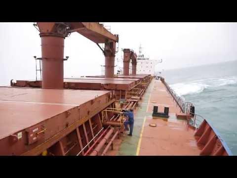 Bulk Carrier Heavy Roll