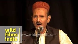 Naseeruddin Saami performs at International Music Festival - Delhi