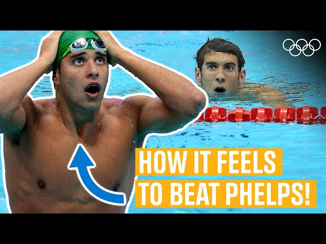 How to beat Michael Phelps ft. Chad Le Clos | Time Machine