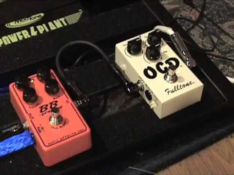 Xotic Effects BB Preamp versus Fulltone OCD V4 guitar effects pedal demo