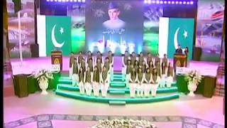 National Songs Medley - Pakistan National Day by Nabeel Shaukat and Humera Channa