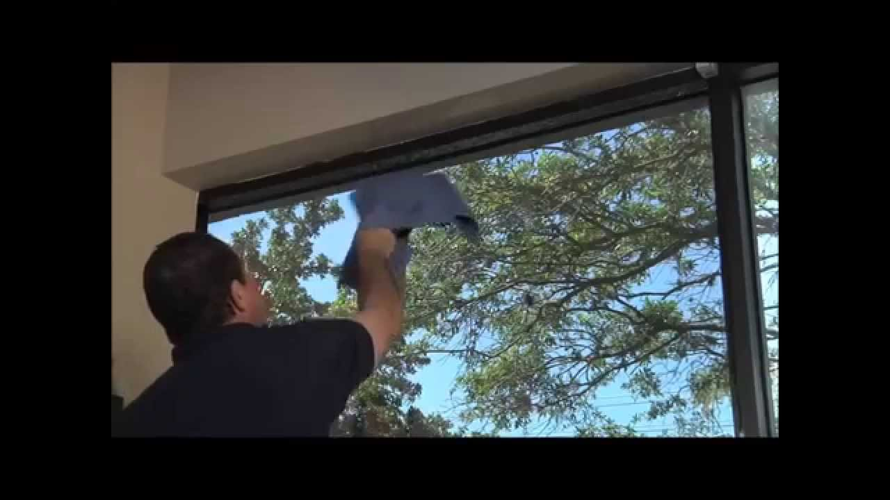 Тонировка стекол в квартире своими руками