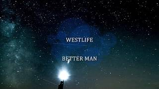 Gambar cover [LYRIC]Better Man - Westlife