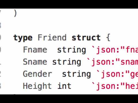 golang reading json files to struct